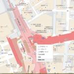 Googleマップ 距離の計測方法 | 名古屋駅から西区那古野のオフィスまで
